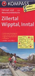 Cyklo Zillertal, Wipptal, Inntal Kompass 3308