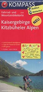 Cyklo Kaisergebirge, Kitzbüheler Alpen Kompass 3304
