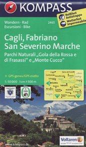 Cagli, Fabriano, San Severino Marche Kompass 2464
