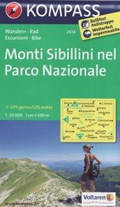 Monti Sibillini nel, Parco Nazionale Kompass 2474