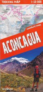 Aconcaqua - trekkingová mapa 1: 50tis.