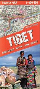 Tibet - trekkingová mapa 1: 400t