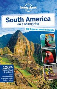 Jižní Amerika - průvodce Lonely Planet v angličtině