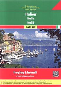 Itálie autoatlas 1:200 000