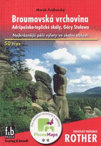 Broumovská Vrchovina - turistický průvodce Rother