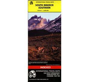 South America Southern - mapa 1:2 800 000
