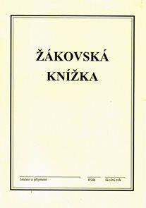Žákovská knížka ZŠ - /béžová/