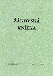 Žákovská knížka/zelená/