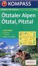 Otztaler Alpen - mapa Kompass č.43 - 1:50 000 /Rakousko,Itálie/