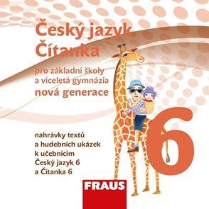 Český jazyk/Čítanka 6.r.ZŠ a víceletá gymnázia - CD /nahrávky dopl.textů a hudeb.ukázek.-68 min.)