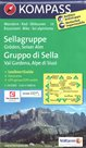 Sellagruppe /Gruppo di Sella/ - mapa Kompass č.59 - 1:50t /Itálie/