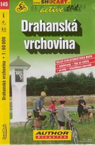 Drahanská vrchovina - cyklo SHc145 - 1:60t
