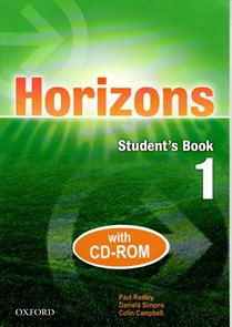Horizons 1 Students Book with  CD ROM