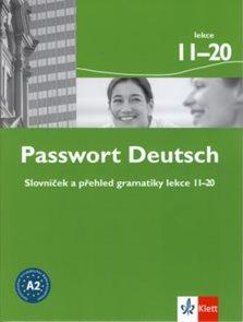 Passwort Deutsch - slovníček a přehled gramatiky lekce 11-20
