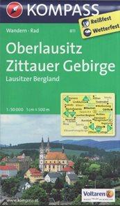 Oberlausitz, Zittauer Gebirge - mapa Kompass č.811 - 1:50 000 /Německo/