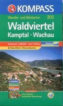 Waldviertel Kamptal-Wachau - set map Kompass č. 203 - 1:50 000 /Rakousko/