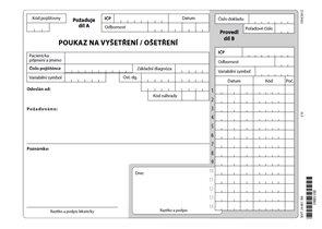 06x- Poukaz na ošetření - vyšetření list A5