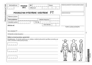 06ft- Poukaz na vyšetření - ošetření FT list A5