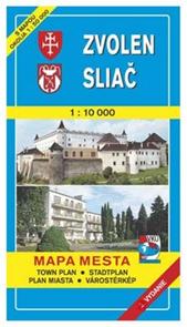 Zvolen, Sliač - pl. VKÚ 1:10t