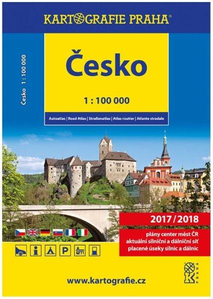Autoatlas Česko 1:100 000 - 22,5 x 30 cm