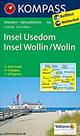 Insel Usedom, Onsel Wollin/Wolin - mapa Kompass č.738 -  1:50t /Německo/