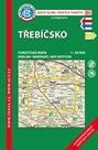 Třebíčsko - mapa KČT č. 80 - 1:50 000
