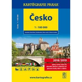 Česko autoatlas 1 : 100 000