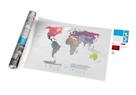 Stírací mapa světa - Air World