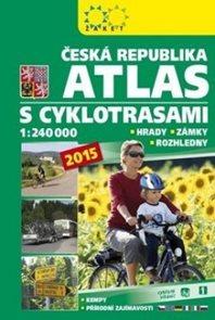 Česká republika Atlas s cyklotrasami 2015