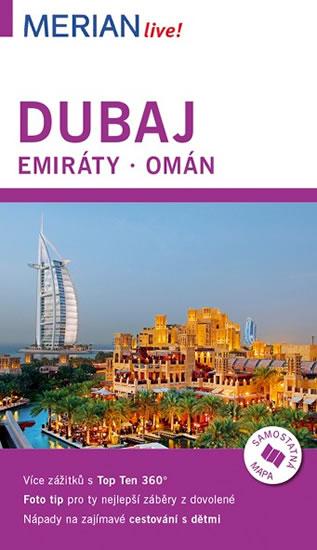 Merian 87 - Dubaj, Emiráty, Omán - Birgit Müller-Wöbcke - 11x19 cm