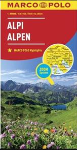 Alpy 1:800 000