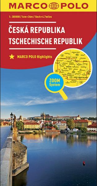 Česká republika - 1:300 000