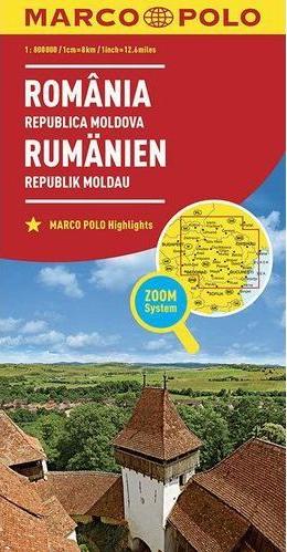 Rumunsko 1:800T/mapa