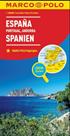Španělsko , Portugalsko 1:800T/mapa