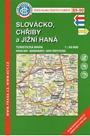 Slovácko, Chřiby a Jižní Haná- mapa KČT 89-90