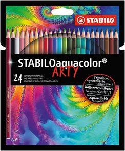 STABILO Aquacolor pastelky ARTY line - 24 barev