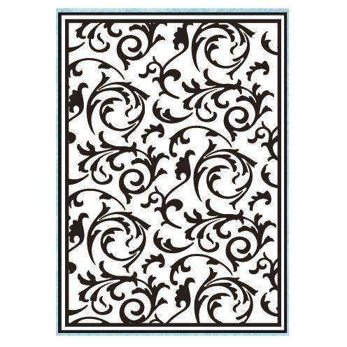 Embosovací kapsa - Květinový vzor