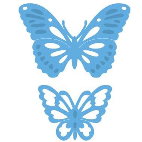 Vyřezávací kovové šablony Creatables - Motýlci dva (2ks)