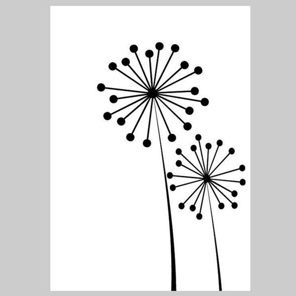 Embosovací kapsa - Květina velká a malá