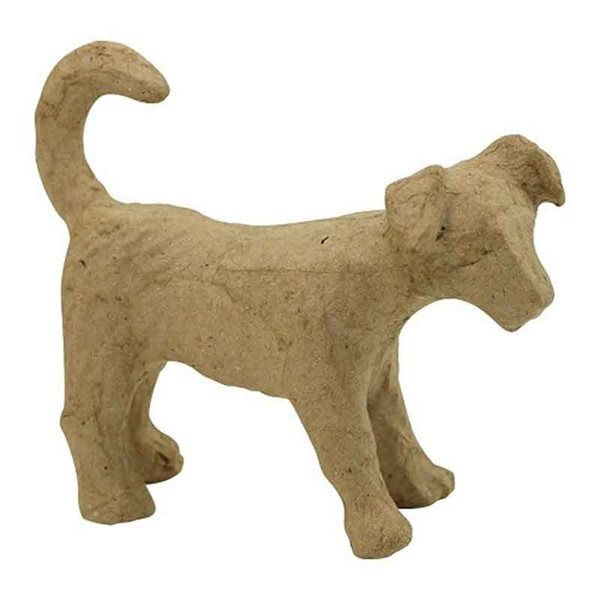 Kartonový pes Jack Russel 3,5 x 11 x 8cm