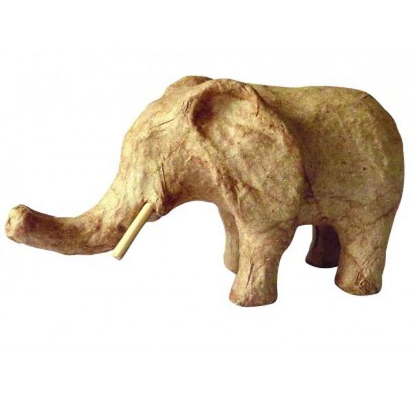 Kartonový slon 12,3 x 5,7 x 6,8cm