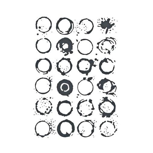 Embosovací kapsa - Kruhy a skvrny