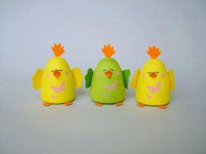 Sada na výrobu kuřátka - 3 ks