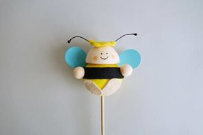 Včelička baculatá - zápich