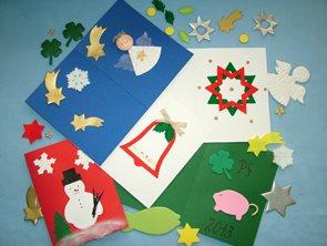 Sada na výrobu vánočních přání