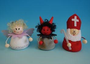 Sada na výrobu čerta, anděla a Mikuláše