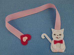Kočka - záložka 1 ks