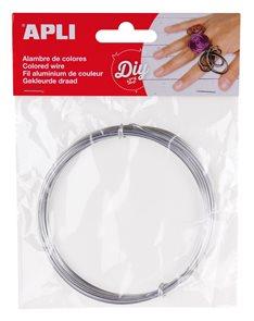 Modelovací drátek 1,5 mm, 5 m - stříbrný