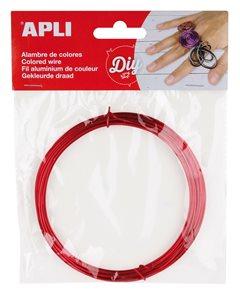 APLI Modelovací drátek 1,5 mm, 5 m - červený