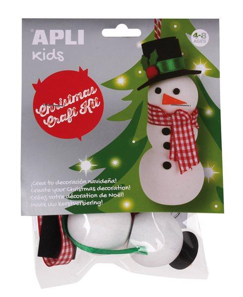 Vánoční kreativní sada - Sněhulák